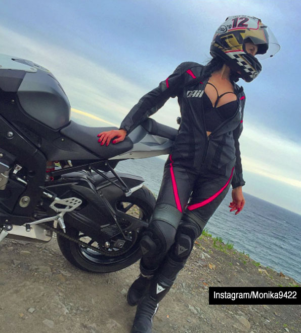 Instagram Monika9422 fatal motorcycle crash