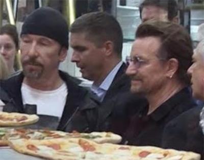 U2 pizza