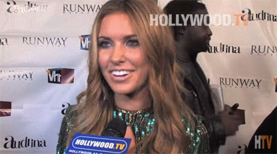 Audrina Partridge on Hollywood TV