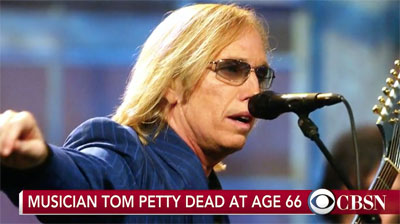 Tom Petty Dead at Age 66
