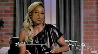 Mary J Blige on Variety Studio on Cardinal Star